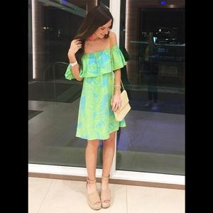 Escapada Living Resort Off Shoulder  Dress/Coverup